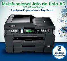 Multifuncional Jato de Tinta A3 Brother