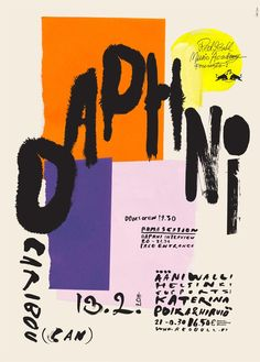 Poster'Daphni'Live Nation (FI)