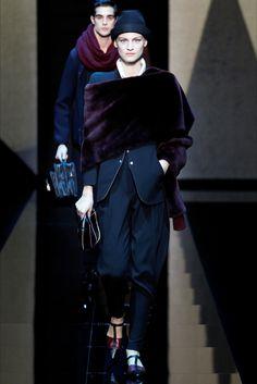 Sfilata Moda Uomo Giorgio Armani Milano - Autunno Inverno 2017-18 - Vogue
