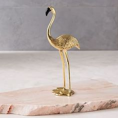 Finished in brass and dressed up with painted accents, this fun flamingo object adds whimsical shine and colour to desktops or shelves. Brass with painted accents. Sand cast and welded. Mirror Shop, Mirror Wall Art, Balloon Arch, Balloons, Balloon Ideas, Balloon Decorations, Home Decor Accessories, Decorative Accessories, Decorative Objects