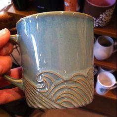Starbuck's new mug. So pretty!