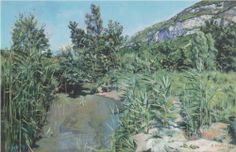 At the foot of the Salève - Ferdinand Hodler