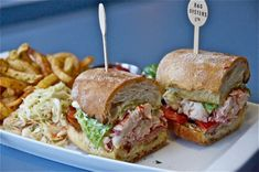 A Sandwich a Day: Lobster BLT from B&G Oysters in Boston - Seafood Recipes Best Lobster Roll, Lobster Rolls, Lobster Recipes, Seafood Recipes, Western Food, Cowboy Western, Lobster Sandwich, Serious Eats, Fish And Seafood