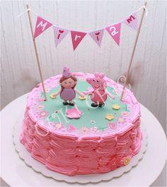 Gâteau d'anniversaire Peppa Pig