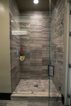 Contemporary Showers modern bathroom design. pl91 shower door from alumax bath