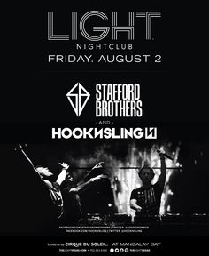 w/ Stafford Brothers, Hook N Sling @ Light ~on~ August 2