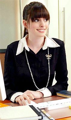 Favourite outfit from TDWP Anne Jacqueline Hathaway, Anne Hathaway, Prada Outfits, Fashion Outfits, Womens Fashion, Corps Parfait, Devil Wears Prada, Lagerfeld, Hollywood Celebrities