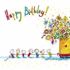 may birthday party Happy Birthday Greetings Friends, Happy Birthday Wishes Cards, Happy Birthday Pictures, Birthday Wishes Flowers, Birthday Wishes Messages, Birthday Cartoon, Art Birthday, Birthday Ideas, Happy B Day