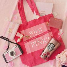 @pinklush.jp のトートバッグはお稽古の時に使ってるよー💗  .    スタバのボトルはいつかの韓国のバレンタイン限定でした☺️💞  #PINKLUSH  #WHATISYOURFAVORITEPINK  #MYFAVORITEPINK  #わたしの好きなピンク  .  .  .  #ミュウミュウ#スタバ#스타벅스 #スターバックス#pink#ピンク#핑크#iphonecase#miumiu#maisondereefur#ヴィクトリアシークレット#victoriaseacret#パスポートケース#agatha#village11factory #village