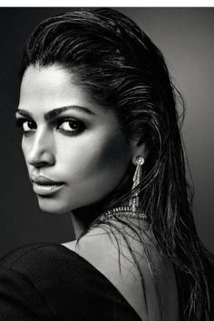 Camilla Alves photographed by David Roemer