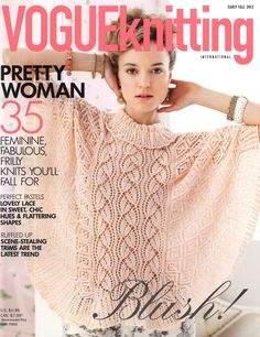Knitting Patterns Vogue Knitting Early Fall 2012 by elanknits Vogue Knitting, Knitting Books, Crochet Books, Knitting Patterns Free, Knit Patterns, Free Knitting, Baby Knitting, Vintage Knitting, Vintage Crochet