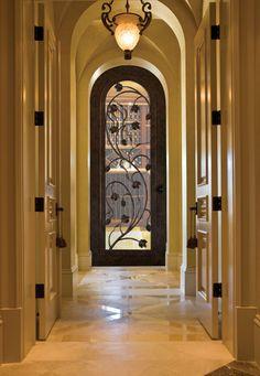 Forged Iron Doors mediterranean front doors