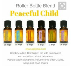 Doterra: Peaceful child or Adult Essential Oils Blend
