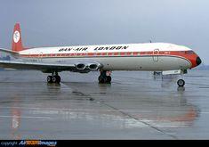 Dan-Air London de Havilland DH106 Comet 4B
