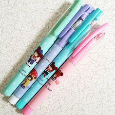 Kawaii orso Foutain penna stilografica di AaishasCreativeMess