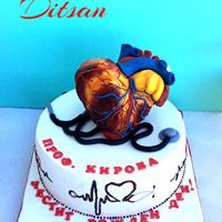 Cardiologist Cake by Ditsan