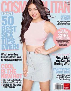 Fashion Magazine Cover, Magazine Covers, Magazine Rack, Street Style Magazine, Filipina Actress, Nadine Lustre, Jadine, Guy Friends, Cover Model