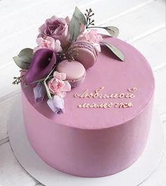 Super ideas for birthday cake decorating flowers ideas Birthday Cake With Flowers, Beautiful Birthday Cakes, Beautiful Cakes, Amazing Cakes, Cake Birthday, Happy Birthday, Mom Cake, Cakes For Women, Birthday Cake Decorating