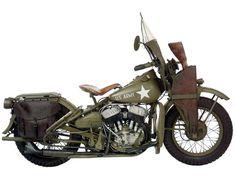 50 Most Iconic Bikes:  Harley-Davidson-WLA-Army-Gear-Patrol