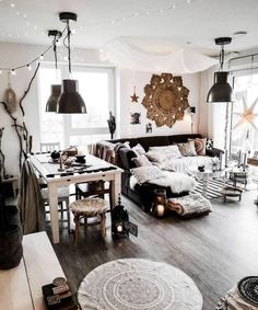 Savvy and Inspiring bohemian living room designs you'll love best living room decor 8 Stylish Home Decor Hacks For Renters Living Room Decor On A Budget, Living Room Styles, Boho Living Room, Living Room Grey, Interior Design Living Room, Living Room Designs, Cozy Living, Design Bedroom, Ideas For Living Room
