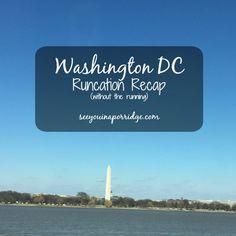 See You In A Porridge: DC Runcation Weekend