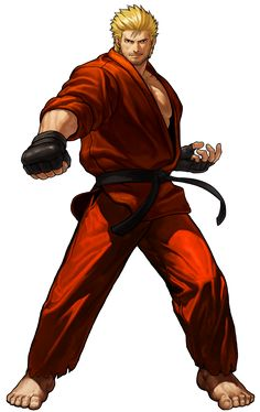 Ryo - Mr. Karate-NGBC Edit by topdog4815 on DeviantArt Art Of Fighting, Fighting Games, Game Character Design, Character Art, Doom Demons, Snk King Of Fighters, Ryu Street Fighter, Hero World, Arte Cyberpunk