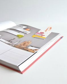 DIY bookmarks, collage, papar crafts