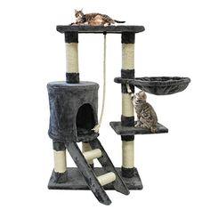 nanook katzenh hle katzentonne caveman gr e l 100 cm 3 h hlen pl sch wei braun. Black Bedroom Furniture Sets. Home Design Ideas