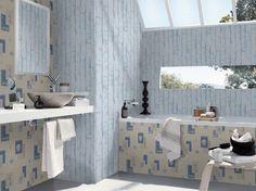 33 Besten Badezimmer Tapeten Wandgestaltung Bilder Auf Pinterest