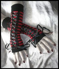 Marilyn My Bitterness Gothic Lolita Corset Laced by ZenAndCoffee, $29.00