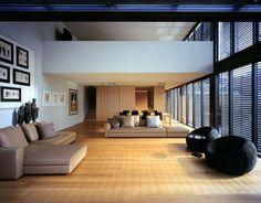 Gould Apartment - Ian Moore Architects Living Room #interiordesign #homedesign #modern #livingroom