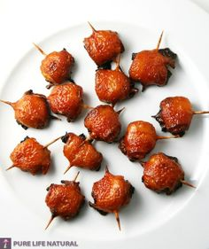 Wrapped Chestnuts | Unique Food Recipes