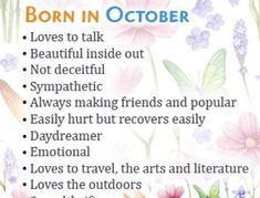 birthday month meme October Borns Facts, Personality Traits, Marriage And Love Life (All You Need To Know About People Born In October) October Born Quotes, People Born In October, Birth Month Meanings, Birthday Month Quotes, Birthday Wishes For Daughter, Baby Birthday, October Baby, Birthday Blessings, Love Facts