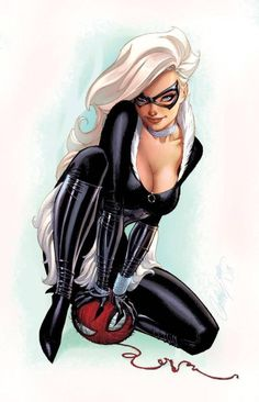 Scott Campbell - Catwoman Masters of Anatomy Marvel Comics, Heros Comics, Hq Marvel, Marvel Comic Books, Marvel Characters, Marvel Heroes, Female Characters, Spiderman Marvel, Female Villains