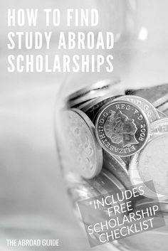 How to find study abroad scholarships. If you need help raising money for your study abroad experience, this guide is full of advice and resources for helping you to find scholarships to apply to for study abroad money. Includes a free printable scholarship checklist!