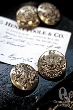 Henry Poole Buttons - Savile Row