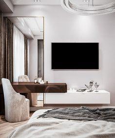 Bedroom False Ceiling Design, Room Design Bedroom, Home Room Design, Living Room Designs, Modern Luxury Bedroom, Modern Bedroom Design, Luxurious Bedrooms, Showroom Interior Design, Apartment Interior