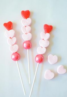 Valentine Candy Kabobs | Happy Wish Company