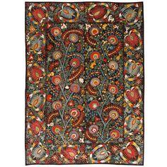 Uzbekistan - silk - late 19th c