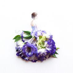 beautiful <3 Lim Zhi Wei Limzy flower dresses