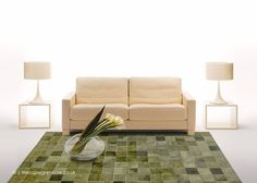 Patchwork Patterns, Patchwork Rugs, Cowhide Rugs, Cowhide Leather, Green Rugs, Color Of Life, Green Leather, Shades Of Green, Floor Chair
