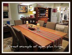 Adam and Kristina's dining room #Parenthood