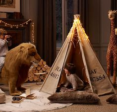 Canvas Play Tent