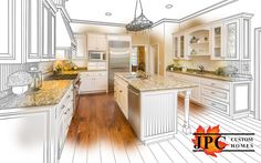 You picture it in your head. JPC Custom Homes helps you accomplish it.