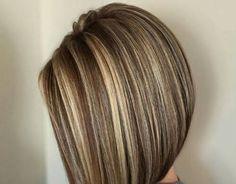 Beauty Nails, Hair Beauty, Brown Hair With Blonde Highlights, Brown Hair Colors, Great Hair, Hair Looks, Short Hair Styles, Hair Cuts, Hairstyles