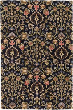 Buy the Surya Brown Direct. Shop for the Surya Brown Castello x Rectangle Wool Hand Tufted Floral Area Rug and save. Textile Patterns, Textile Design, Textiles, Textile Prints, Tibetan Rugs, Transitional Area Rugs, Rectangle Area, Floral Area Rugs, Pink Rug