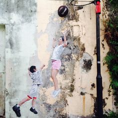 Street Art of Penang, George town, Malaysia.