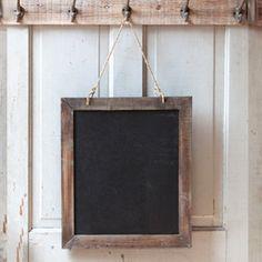 Two Sided Wood Framed Blackboard, Two Sided Wood Framed Chalkboard, menu blackboard Love Decor Steals!