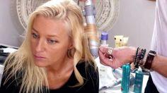 Victoria Secret Beach Waves. Miranda Kerr's hair stylist on how-to get THAT hair. Except it's on mine. Video Tutorial.