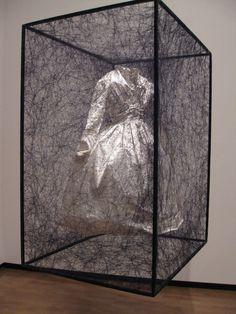 Chiharu Shiota, Unkbown from 'Trauma' series on ArtStack #chiharu-shiota-yan-tian-qian-chun #art